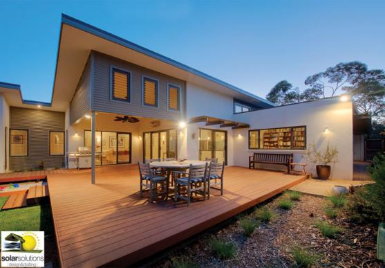 Get inspired by photos of outdoor living from australian for Country home designs perth