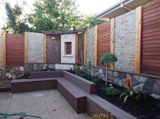 Feature Wall Ideas by Creative Century Landscape and Masonry