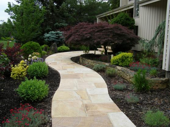 Garden Path Design Ideas by Creative Century Landscape and Masonry