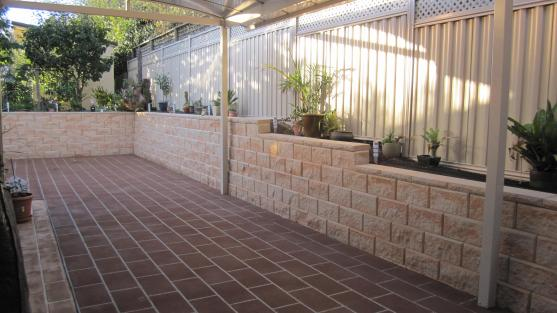 Outdoor Tile Designs by Creative Century Landscape and Masonry