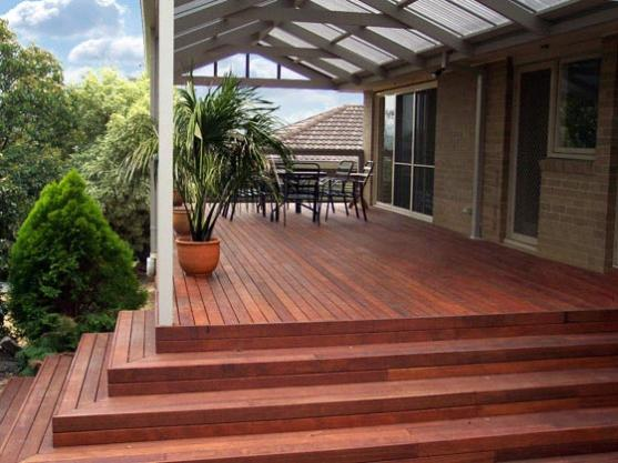 Elevated Decking Ideas by David Howell Constructions