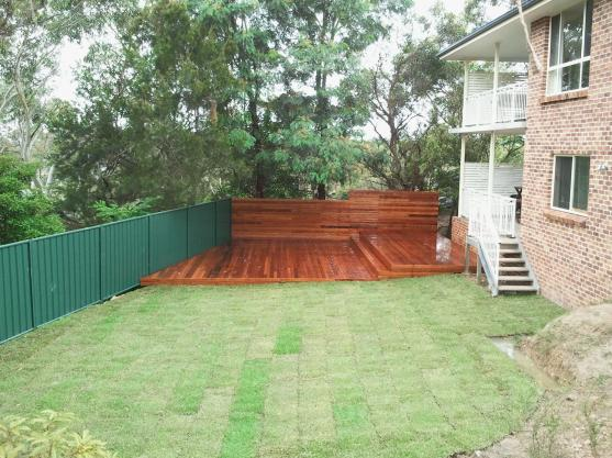 Elevated Decking Ideas by Budscapes Landscaping