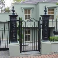 Lion Post Fence