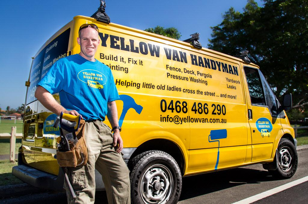 Hipages Com Au Find Yellow Van Handyman