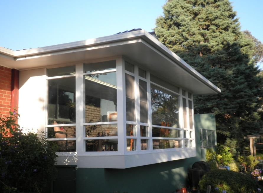 Rear Sunroom And Balcony Addition Galleries L Poliness