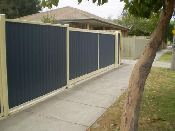 Colorbond Fencing Desgins by Lockfast Fencing