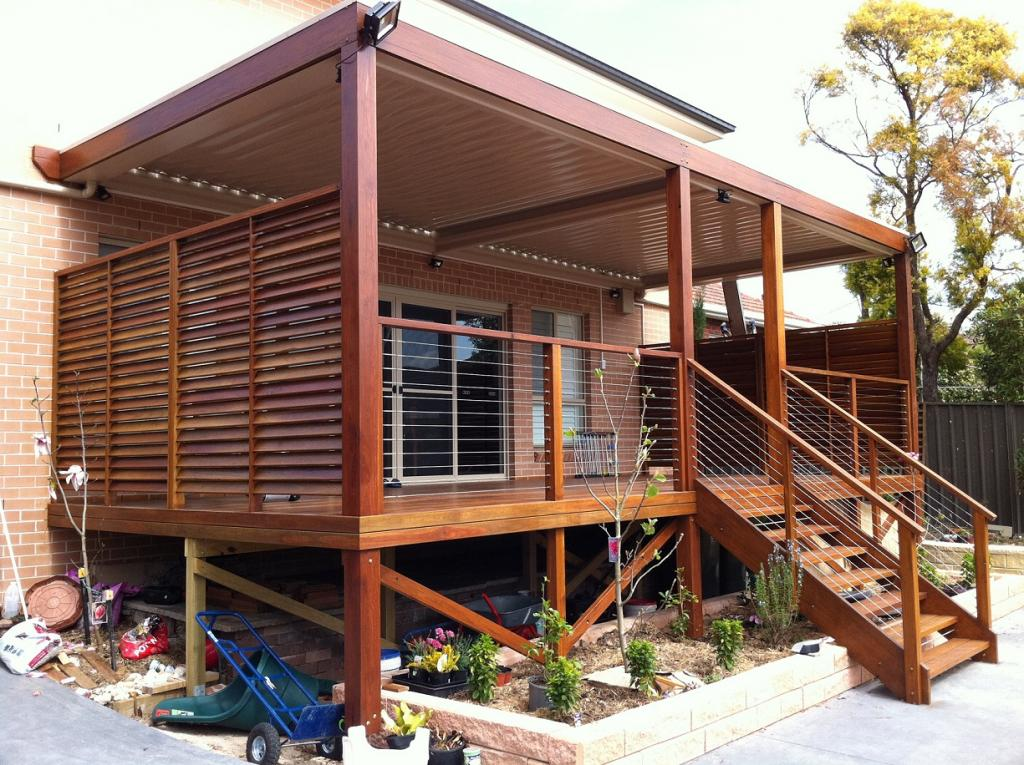 Elevated Decking Ideas by CSG Constructions