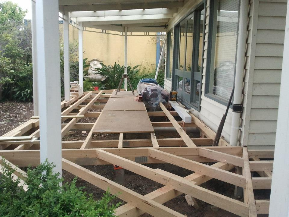 Thornbury Rear Verandah Rebuild