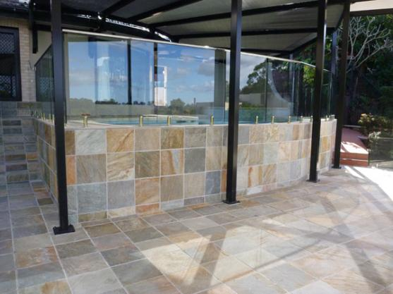 Outdoor Tile Designs by Mastercraft Tiling Services