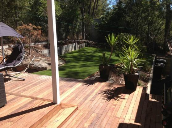 Elevated Decking Ideas by Tacshield Urban Developments.