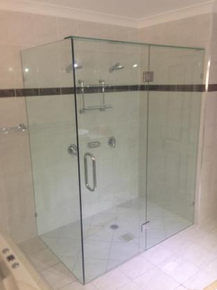 Frameless Shower Screen Designs by Custom Glass & Splashbacks