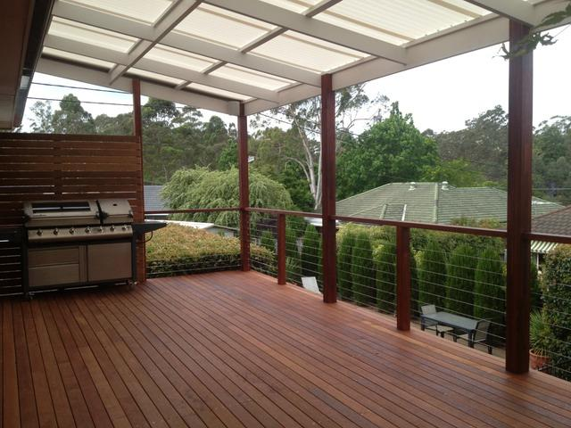 Elevated Decking Ideas by Hardscape Carpentry