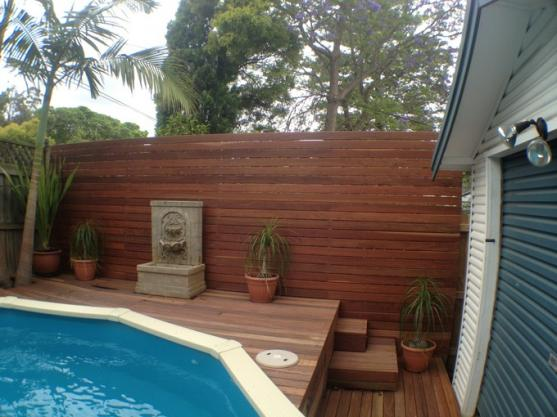 Pool Decking Design Ideas by Hardscape Carpentry