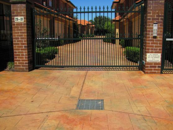 Driveway Gate Designs by CD Concrete Construction P/L
