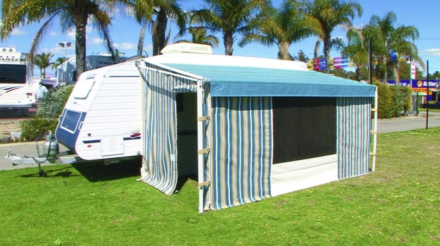 Caravan Annexes & Awnings - Galleries - Kenlow Outdoor Shades