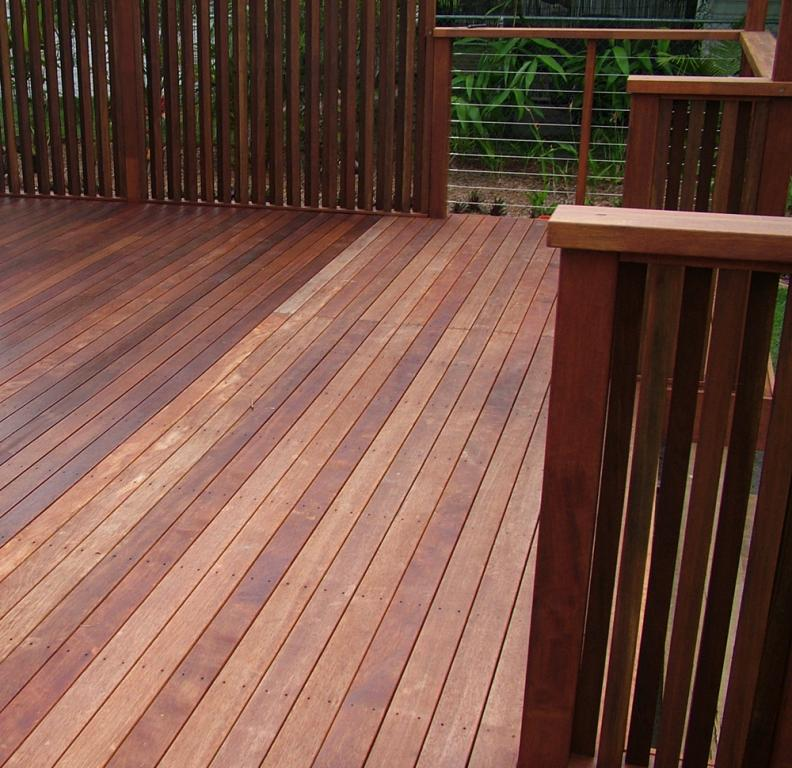 The deck building company pty ltd north brisbane from for Timber decking seconds