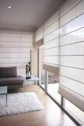 Roman Blind Ideas by Abode Shutters & Blinds