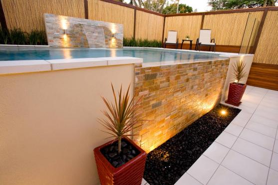 Outdoor Lighting Ideas by Brisbane Residential Constructions