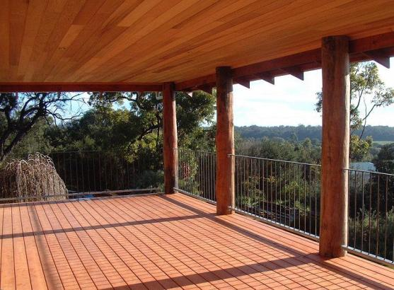 Elevated Decking Ideas by Rusty Nail Designs