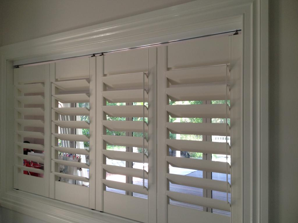 EEZ E VIEW Window Shutters Servicing Brisbane and surround. EEZ  #3F5E8C