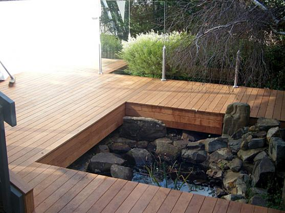 Elevated Decking Ideas by Project X Construction