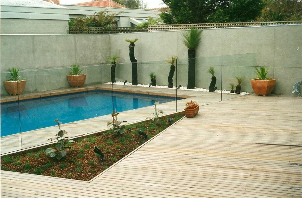 Pool decking inspiration q gardens australia hipages for Pool design eltham