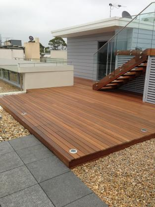 Elevated Decking Ideas by Ozfix Carpentry Pty Ltd