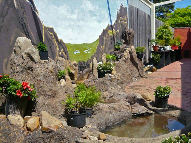 Mini Water Feature Landscapes For Small Sites