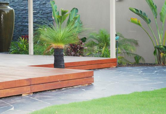 Elevated Decking Ideas by Dream Making Landscapes