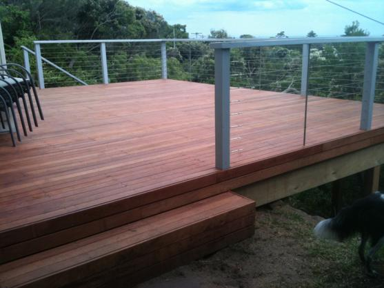 Elevated Decking Ideas by Tall Constructions