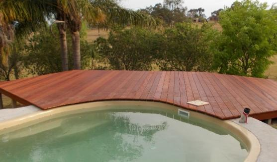 Pool Decking Design Ideas by Apollo Patios & Decks