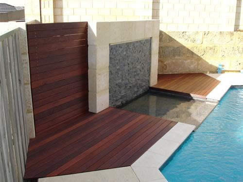 Pool Decking Design Ideas by Quality Timber Decking