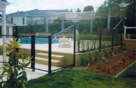 Pool Fencing Ideas by Safety Pool And Garden Fencing