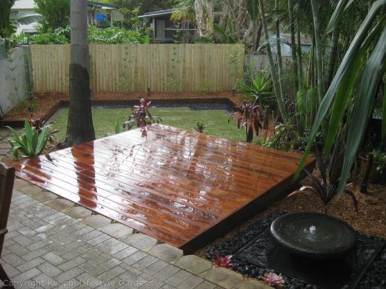 Elevated Decking Ideas by Kenchi Lifestyle Gardens Pty Ltd