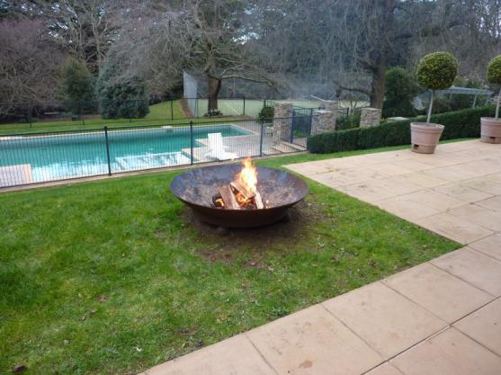 Fire Pit Design Ideas by RED HILL WROUGHT IRON
