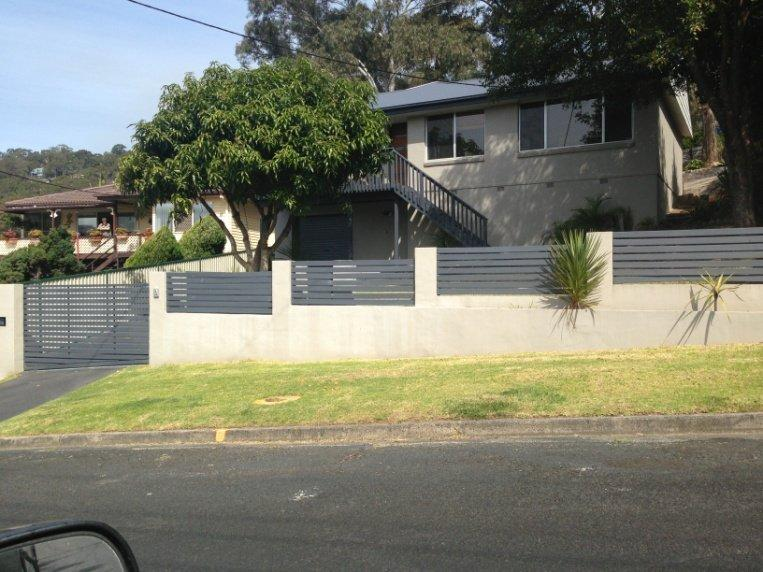 Front Fences Galleries All Masonry Retaining Wall