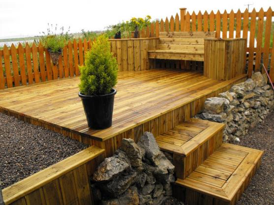 Elevated Decking Ideas by Quirke Carpentry PTY LTD