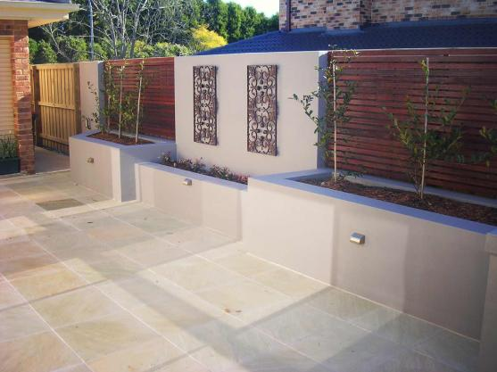 Feature Wall Ideas by Bloom Landscapes