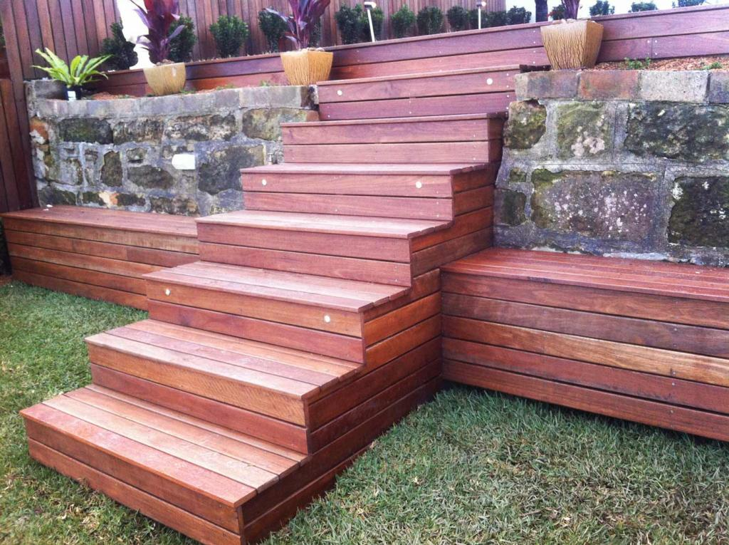 Elevated Decking Ideas by Bloom Landscapes