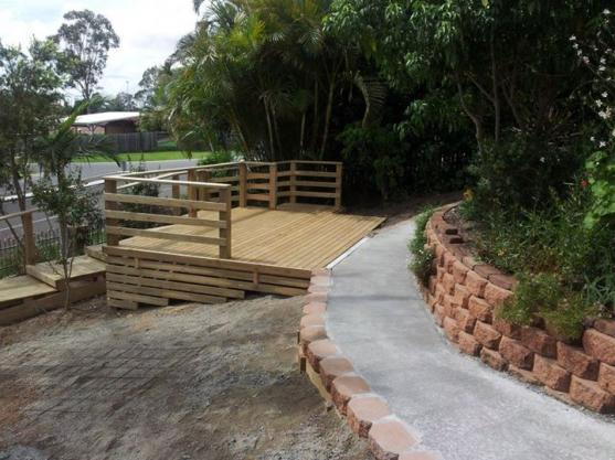 Elevated Decking Ideas by Corbetts Custom Landscapes