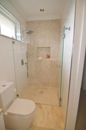 Frameless Shower Screen Designs by Wicks Building Solutions