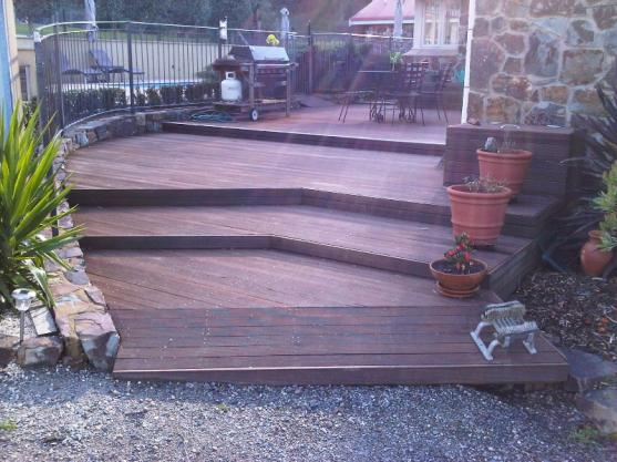 Elevated Decking Ideas by Edwards Renovations Pty Ltd