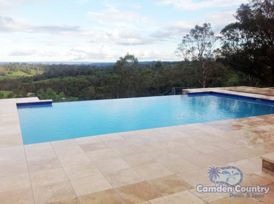 Infinity Pool Design Ideas by Camden Country Pools and Spas Pty Ltd