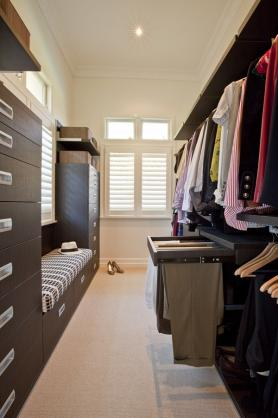 Walk In Wardrobe Design Ideas by Darren James Interiors