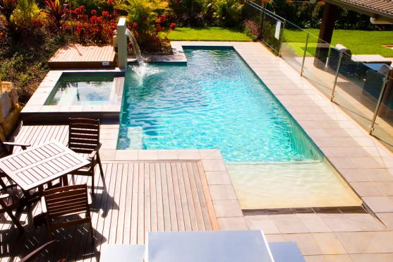 Pool Decking Design Ideas by Noble Pools & Constructions