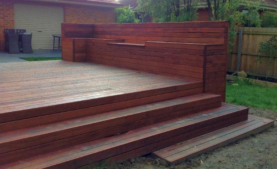 Elevated Decking Ideas by Placemakers Construction
