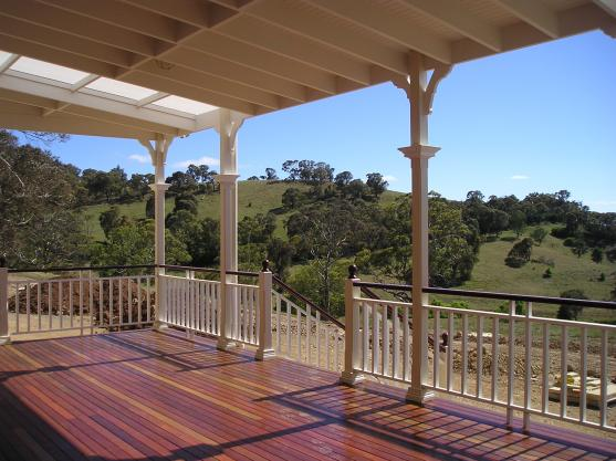 Elevated Decking Ideas by Sugden Homes Pty Ltd