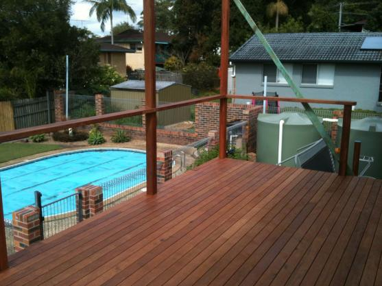 Elevated Decking Ideas by Adam Mortell Carpentry