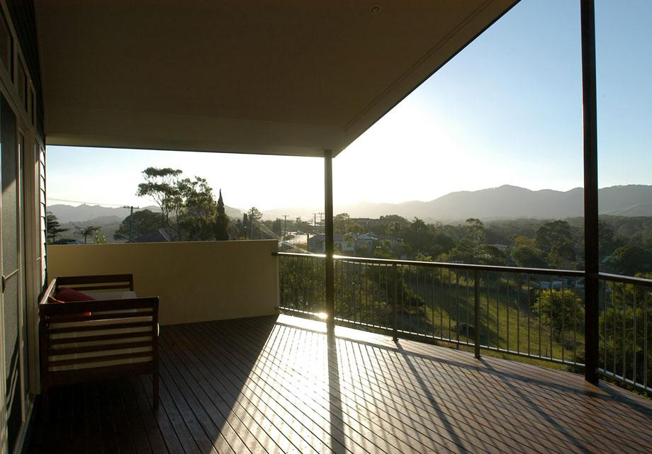 Elevated Decking Ideas by Tisdell Homes