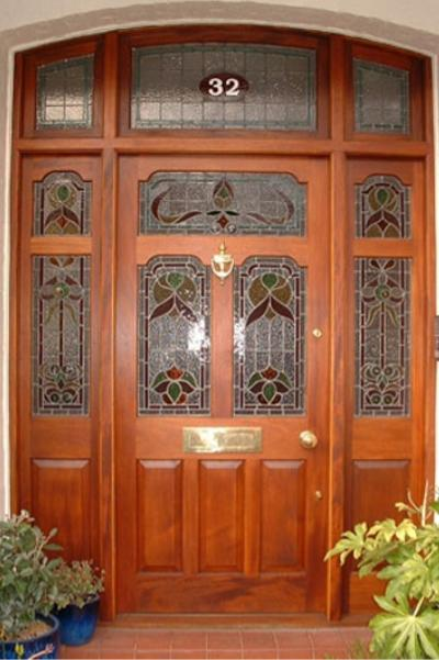 Leadlight Doors